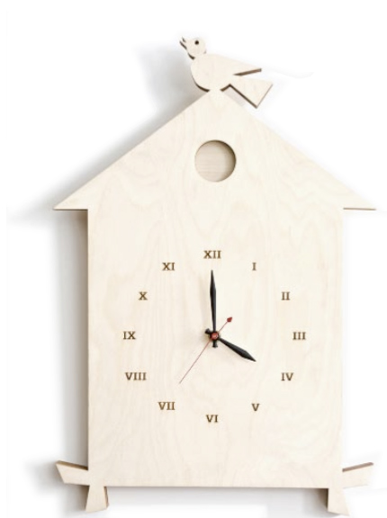 the birdhouse clock